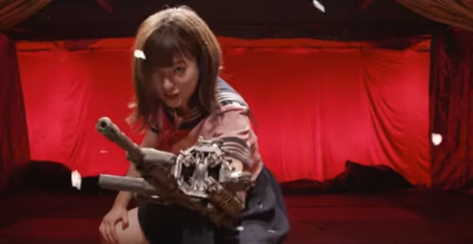 爆裂魔神少女 バーストマシンガール